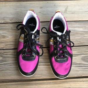 Creative Recreation Pink and Black Sneakers